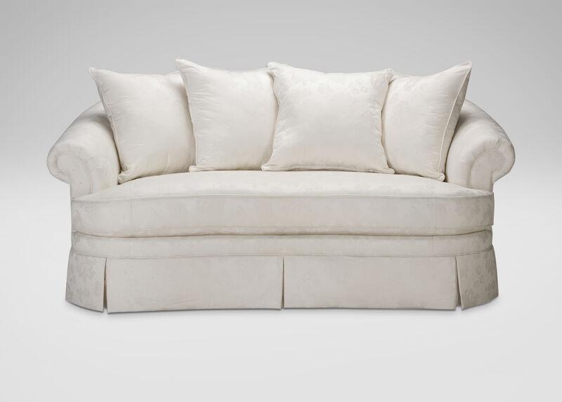 Paris Bench-Cushion Sofa ,  , large_gray
