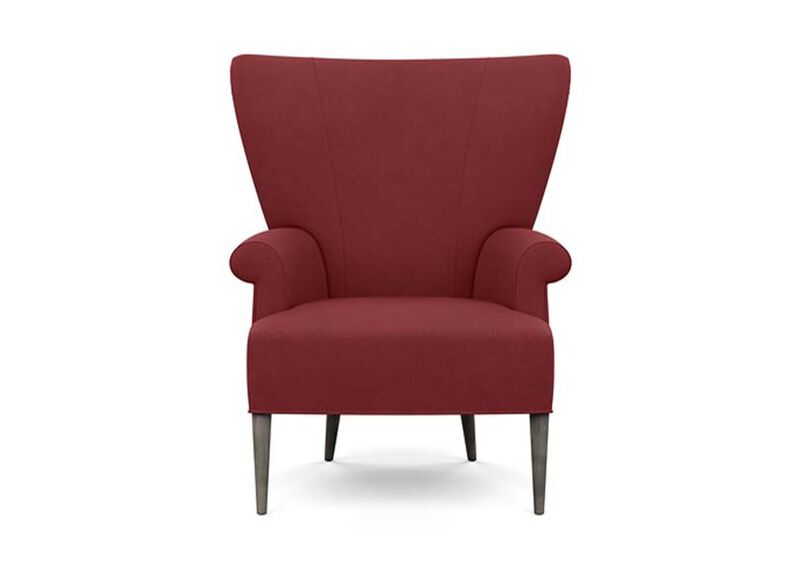 Bravo Chair , Lucky Denim Red (D1200) , large_gray