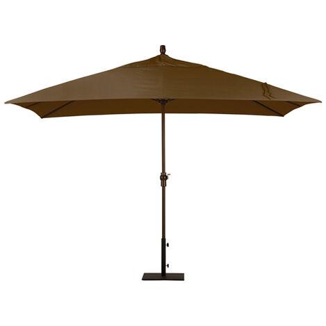 Cocoa Rectangular Market Umbrella ,  , large
