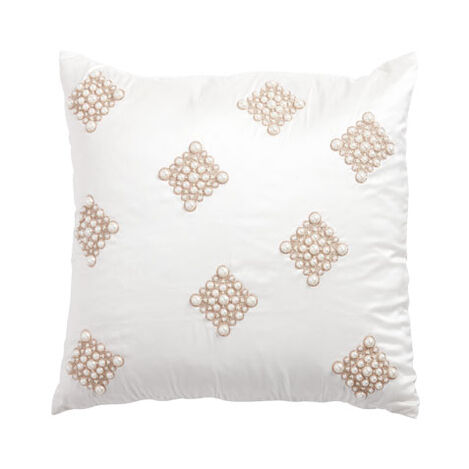 Pearl Diamond Ivory Pillow ,  , large