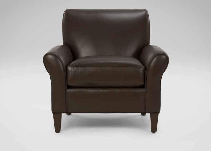 Adam Leather Chair ,  , large_gray
