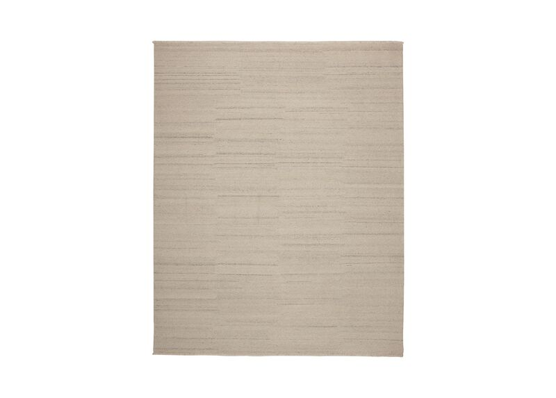 Wool Soumak Rug, Ivory ,  , large_gray