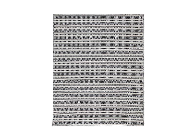 Woven Symmetry Rug, Cream/Black ,  , large_gray