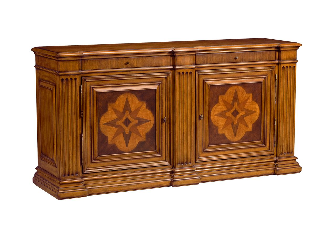 Lombardy marquetry sideboard buffets sideboards servers for Sideboard alt