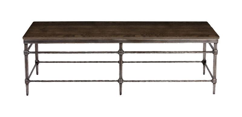 Vida Wood-Top Coffee Table ,  , large_gray