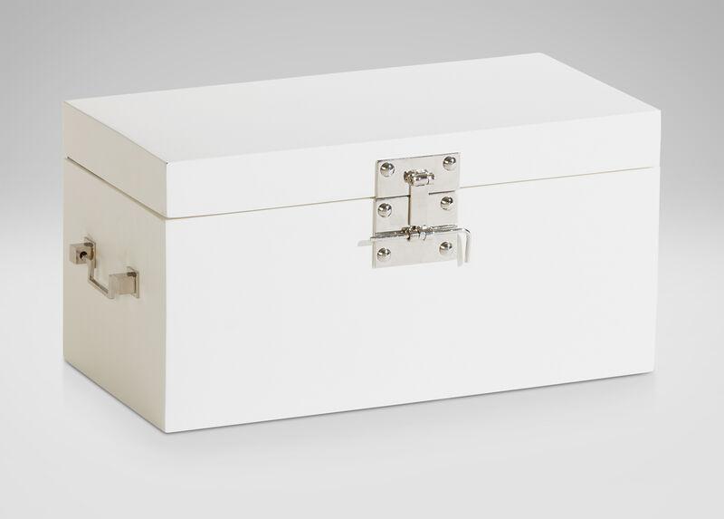 White Large Canton Box ,  , large_gray