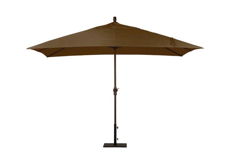 Cocoa Rectangular Market Umbrella ,  , large_gray