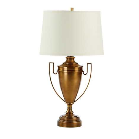 Huntsman Brass Trophy Lamp ,  , large