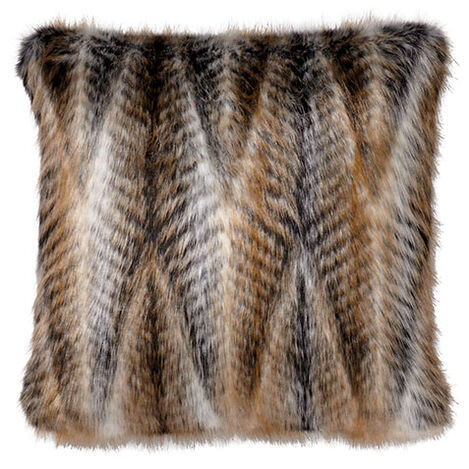 Faux Fur Chevron Pillow ,  , large