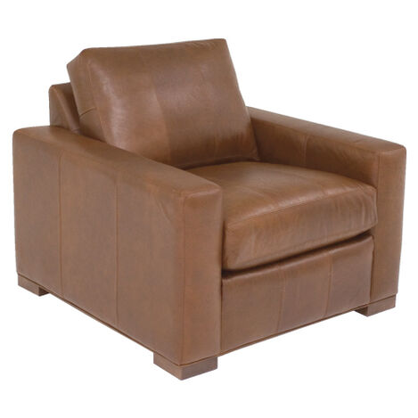 Hudson Leather Chair ,  , large