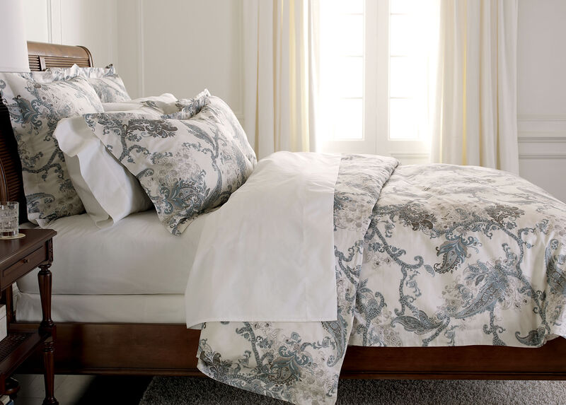 Wynsome Paisley Duvet Cover ,  , large_gray