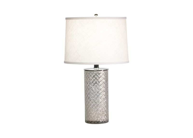 Lattice Glass Accent Lamp ,  , large_gray