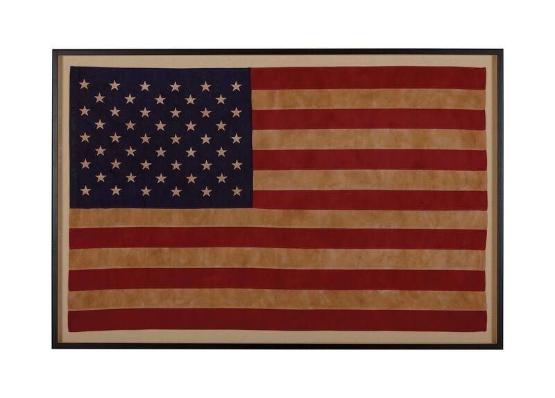 Vintage US Flag ,  , large_gray