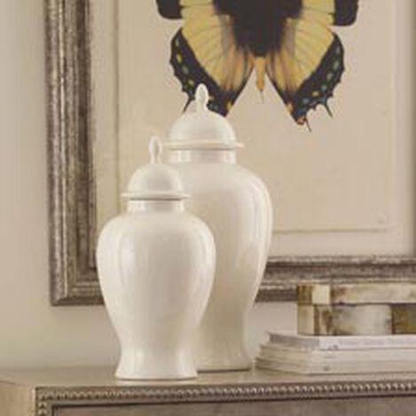 Large Ivory Temple Jar ,  , hover_image