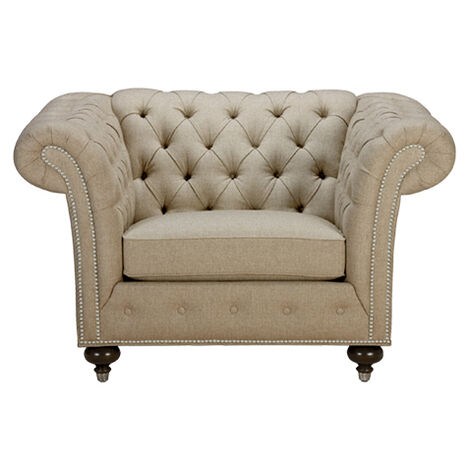 mansfield chair quick ship large - Living Room Chairs