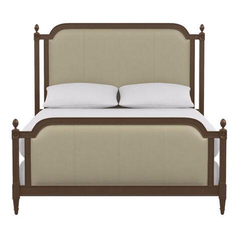 Allesandra Leather Bed ,  , large