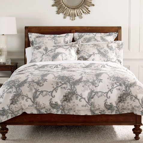 wynsome paisley duvet cover and shams large