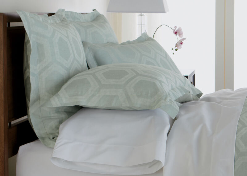 Geometric Linen King Sham, Mineral at Ethan Allen in Ormond Beach, FL | Tuggl