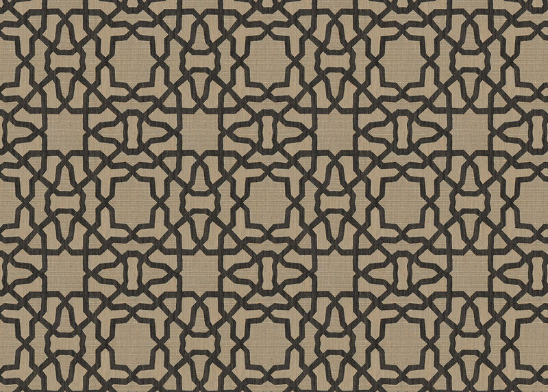 Mazy Black Fabric by the Yard ,  , large_gray