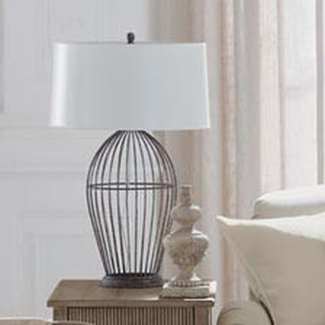 Brody Open Cage Table Lamp ,  , hover_image