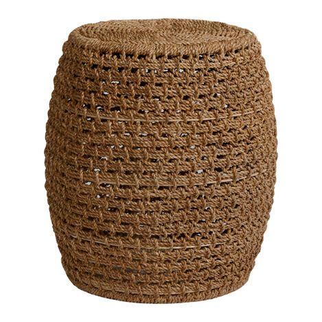 Heather Woven Stool ,  , large