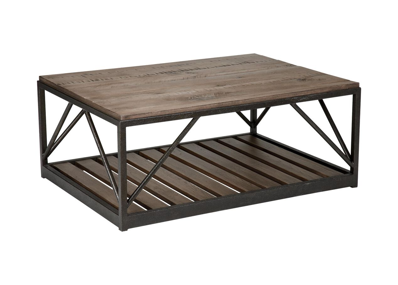 Beam Metal Base Coffee Table Coffee Tables