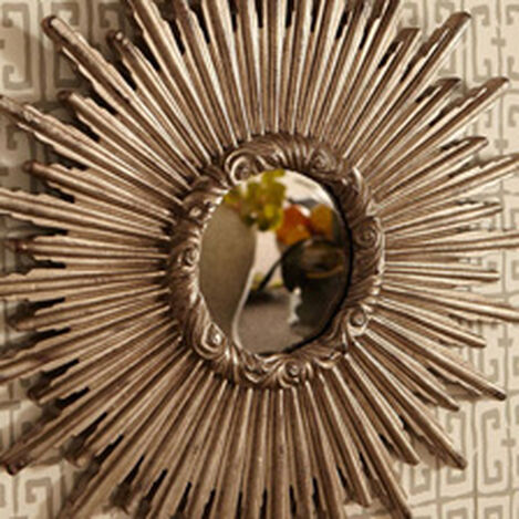"24"" Silver Starburst Mirror ,  , hover_image"