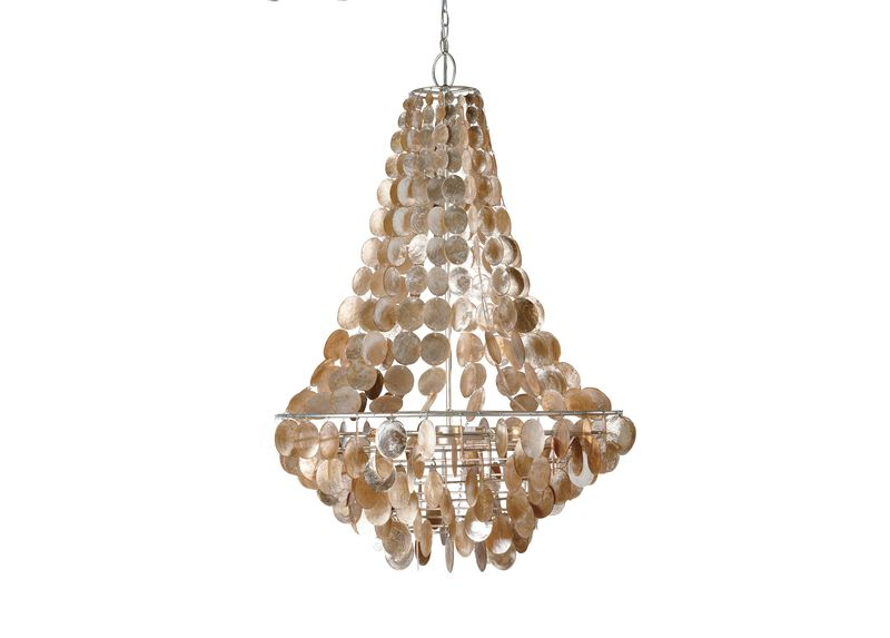 Capiz Chandelier ,  , large_gray