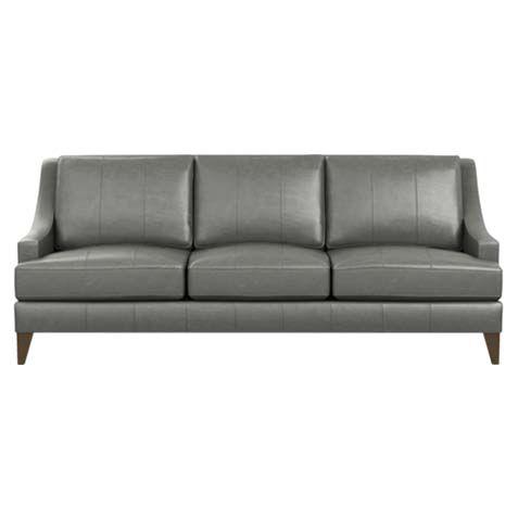 Emerson Leather Sofa, Quick Ship