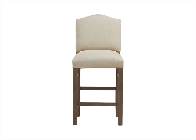 Hadley Counter Stool, Arched Top and Square Leg ,  , large_gray