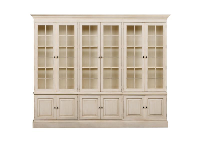 Villa Triple Library Bookcase ,  , large_gray