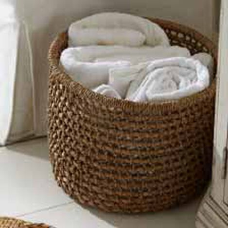 Small Handwoven Flo Basket ,  , hover_image