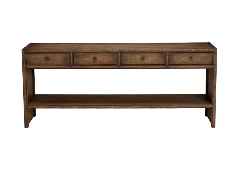 Large Shogun Console Table ,  , large_gray