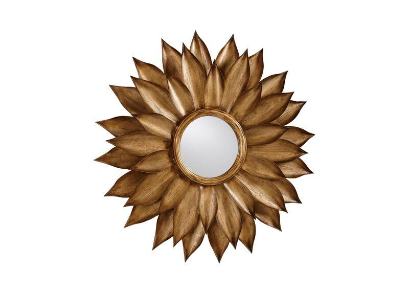 Sunflower Wall Mirror ,  , large_gray