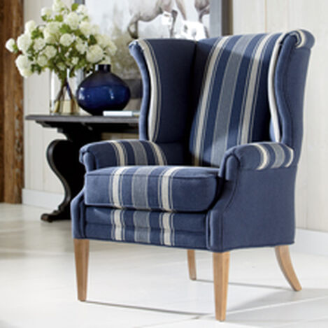 Large Clara Wing Chair Hover Image