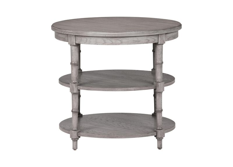 Allistair Round Side Table ,  , large_gray