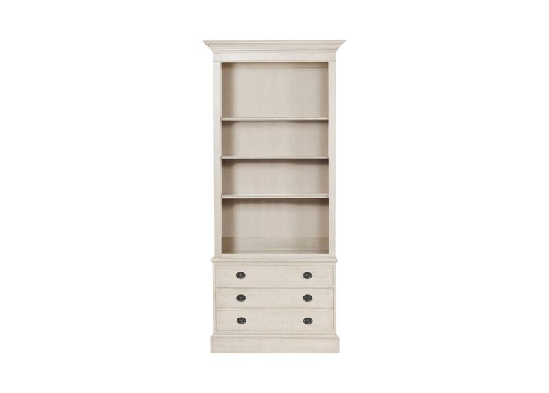 Villa Single File Bookcase ,  , large_gray