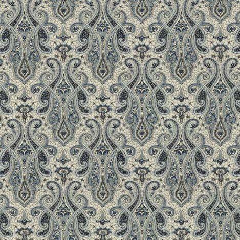 Shayna Indigo Fabric ,  , large