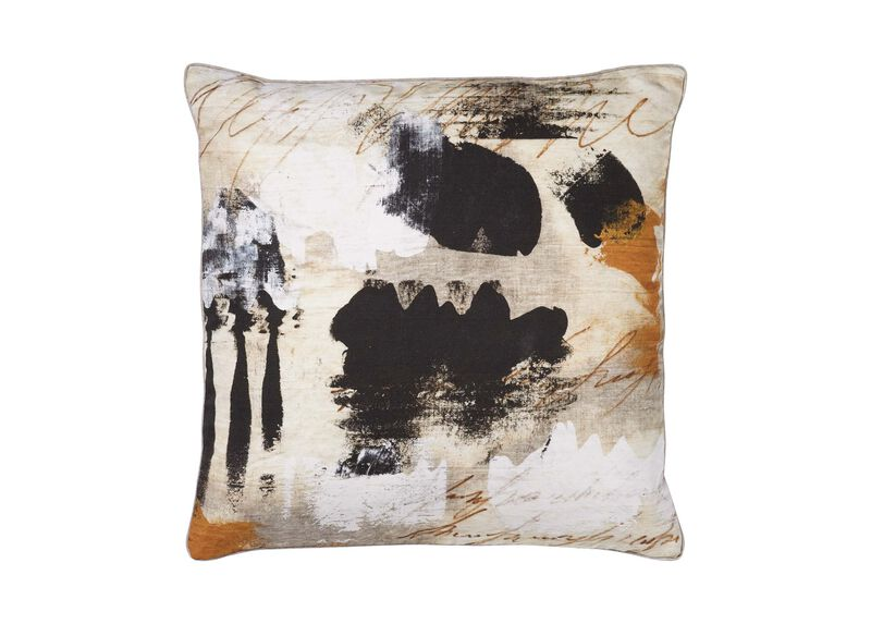 Abstract Print Pillow ,  , large_gray