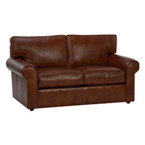 Retreat Roll-Arm Leather Sofa ,  , hover_image