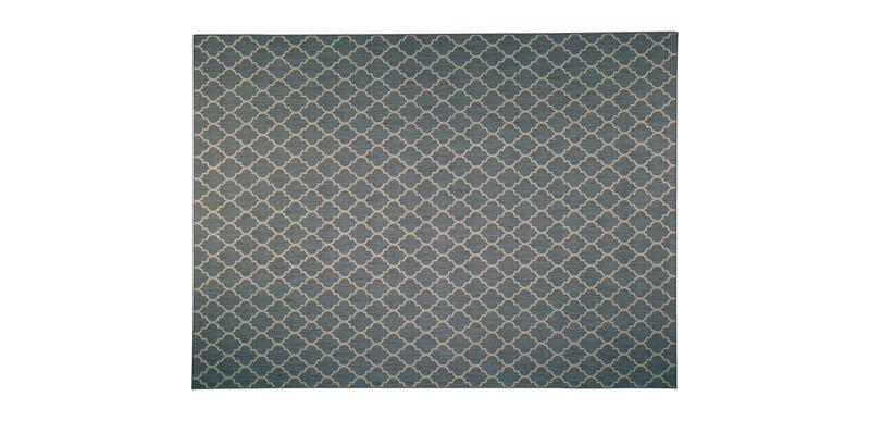 Moroccan Art Serged Rug ,  , large_gray