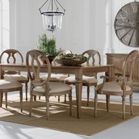 Dining Room Table Pictures Gorgeous Shop Dining Tables  Kitchen & Dining Room Table  Ethan Allen Review