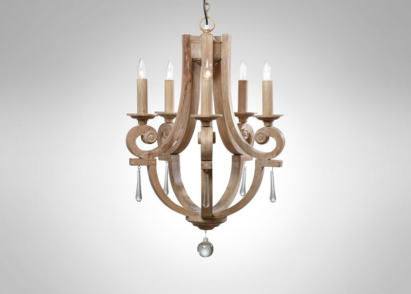 Ivory Lisi Chandelier at Ethan Allen in Ormond Beach, FL | Tuggl