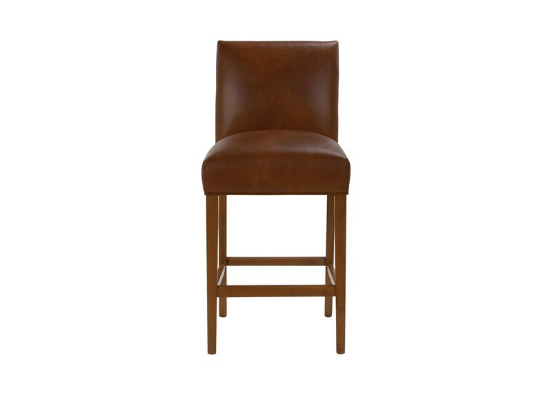 Thomas Leather Barstool at Ethan Allen in Ormond Beach, FL | Tuggl