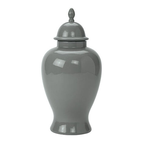 Small Gray Temple Jar ,  , large