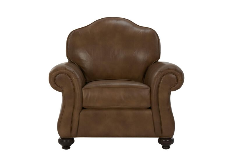 Whitney Leather Chair ,  , large_gray