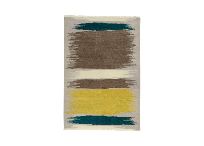 Brushstrokes Rug ,  , large_gray