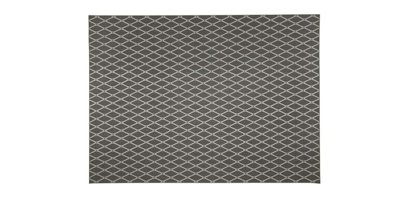 Zia Quilt Serged Rug ,  , large_gray