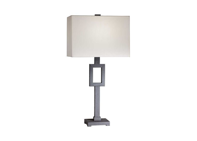 Modena Iron Table Lamp ,  , large_gray