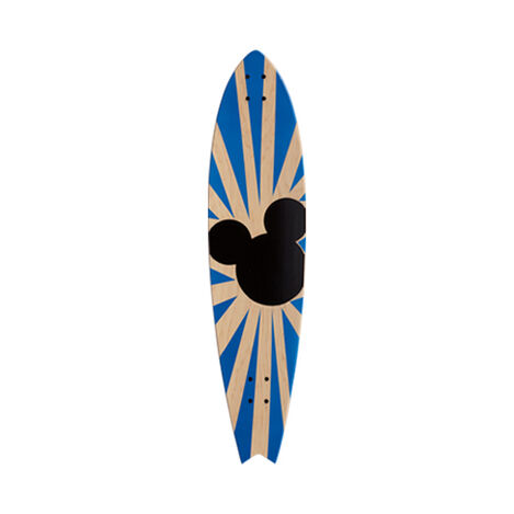 Mickey Mouse Longboard Wall Art I ,  , large